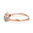handmade engagement rings with montana sapphire by Olivia Ewing Jewelry