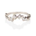 Mason Diamond Contour Ring by Olivia Ewing Jewelry