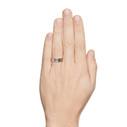 Mens tree bark wedding ring by Olivia Ewing Jewelry