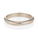 3mm Driftwood Ring by Olivia Ewing Jewelry