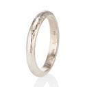 Unique wedding ring by Olivia Ewing Jewelry