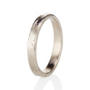 Nature inspired wedding ring by Olivia Ewing Jewelry