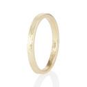 Men's bark wedding ring by Olivia Ewing Jewelry