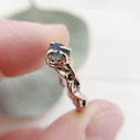 Montana sapphire ring by Olivia Ewing Jewelry
