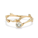 Verona Montana sapphire Bezel engagement ring by Olivia Ewing Jewelry
