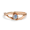 Unity Montana Sapphire Solitaire Ring by Olivia Ewing Jewelry