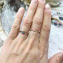 Wrapped twig engagement ring by Olivia Ewing Jewelry