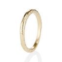 Unique diamond wedding ring by Olivia Ewing Jewelry