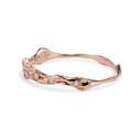 Delicate Diamond Wedding Band by Olivia Ewing Jewelry