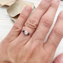 Unique engagement ring by Olivia Ewing Jewelry