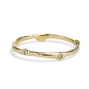 Yellow gold diamond wedding ring by Olivia Ewing Jewelry