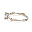 Solitaire twig engagement ring by Olivia Ewing Jewelry