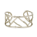 14K white gold nature themed bracelet by Olivia Ewing Jewelry