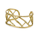 14K yellow gold nature bracelet by Olivia Ewing Jewelry
