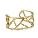 Gold earthy bracelet by Olivia Ewing Jewelry