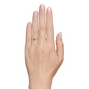 Non traditional engagement ring by Olivia Ewing Jewelry