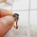 Nature engagement ring by Olivia Ewing Jewelry