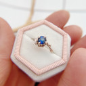 Beautiful unique engagement ring by Olivia Ewing Jewelry