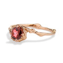 Unique ruby engagement ring by Olivia Ewing Jewelry