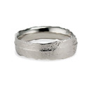 Men's Nature Inspired Wedding Ring by Olivia Ewing Jewelry