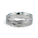 Silver Plume Ring by Olivia Ewing Jewelry