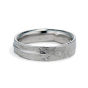 Men's nature inspired wedding band by Olivia Ewing Jewelry