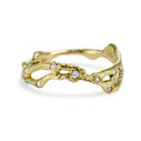 Naples Diamond Double Contour Ring by Olivia Ewing Jewelry