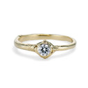 Calais Diamond Bezel Ring by Olivia Ewing Jewelry