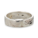 Silver Birch Ring by Olivia Ewing Jewelry