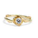 Sidney Diamond Solitaire Ring by Olivia Ewing Jewelry
