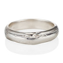 6mm Driftwood Ring by Olivia Ewing Jewelry