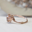 Tourmaline engagement ring by Olivia Ewing Jewelry