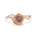 Large Naples Tourmaline Solitaire Ring by Olivia Ewing Jewelry