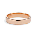 Men's rose gold wedding ring by Olivia Ewing Jewelry