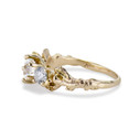 Nature Inspired diamond engagement ring by Olivia Ewing Jewelry