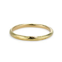 Lee Ring - textured gold wedding band by Olivia Ewing Jewelry