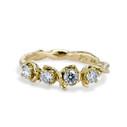 Union Diamond Four Stone Ring by Olivia Ewing Jewelry