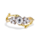 Union Diamond Cluster Ring by Olivia Ewing Jewelry