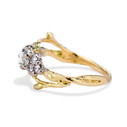 Antique rose cut diamond engagement ring by Olivia Ewing Jewelry