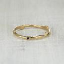 nature inspired sapphire ring