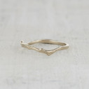 stackable twig wedding band