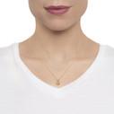 pear shaped quartz necklace