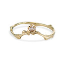 Naples Diamond Crown Contour Ring by Olivia Ewing Jewelry