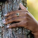 Montana Sapphire rings by Olivia Ewing Jewelry