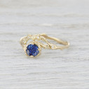 half halo diamond engagement ring