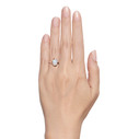 Twig engagement ring rose gold by Olivia Ewing Jewelry