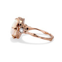 Rose gold opal ring by Olivia Ewing Jewelry