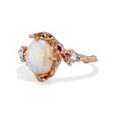 Opal engagement ring by Olivia Ewing Jewelry