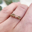 Unique twig engagement ring  by Olivia Ewing Jewelry