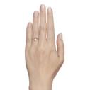 twig engagement ring diamond halo